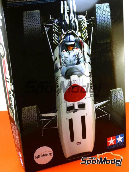 Honda RA273 - Campeonato del Mundo de Formula1 1967 | Maqueta de coche en escala1/12 fabricado por Tamiya (ref.TAM12032, tambien 12032) image