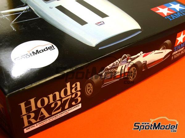 Image 1: Honda RA273 - Campeonato del Mundo de Formula1 1967 | Maqueta de coche en escala1/12 fabricado por Tamiya (ref.TAM12032, tambien 12032)