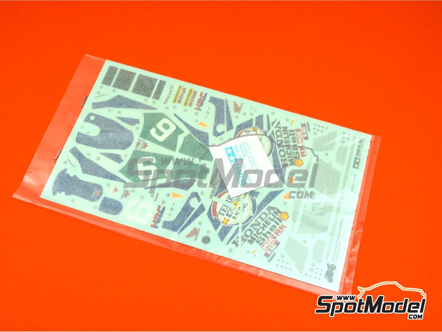 Image 1: Honda NSR250 Ajinomoto - World Road Race 1990 | Maqueta de moto en escala1/12 fabricado por Tamiya (ref.TAM14110, tambien 14110)