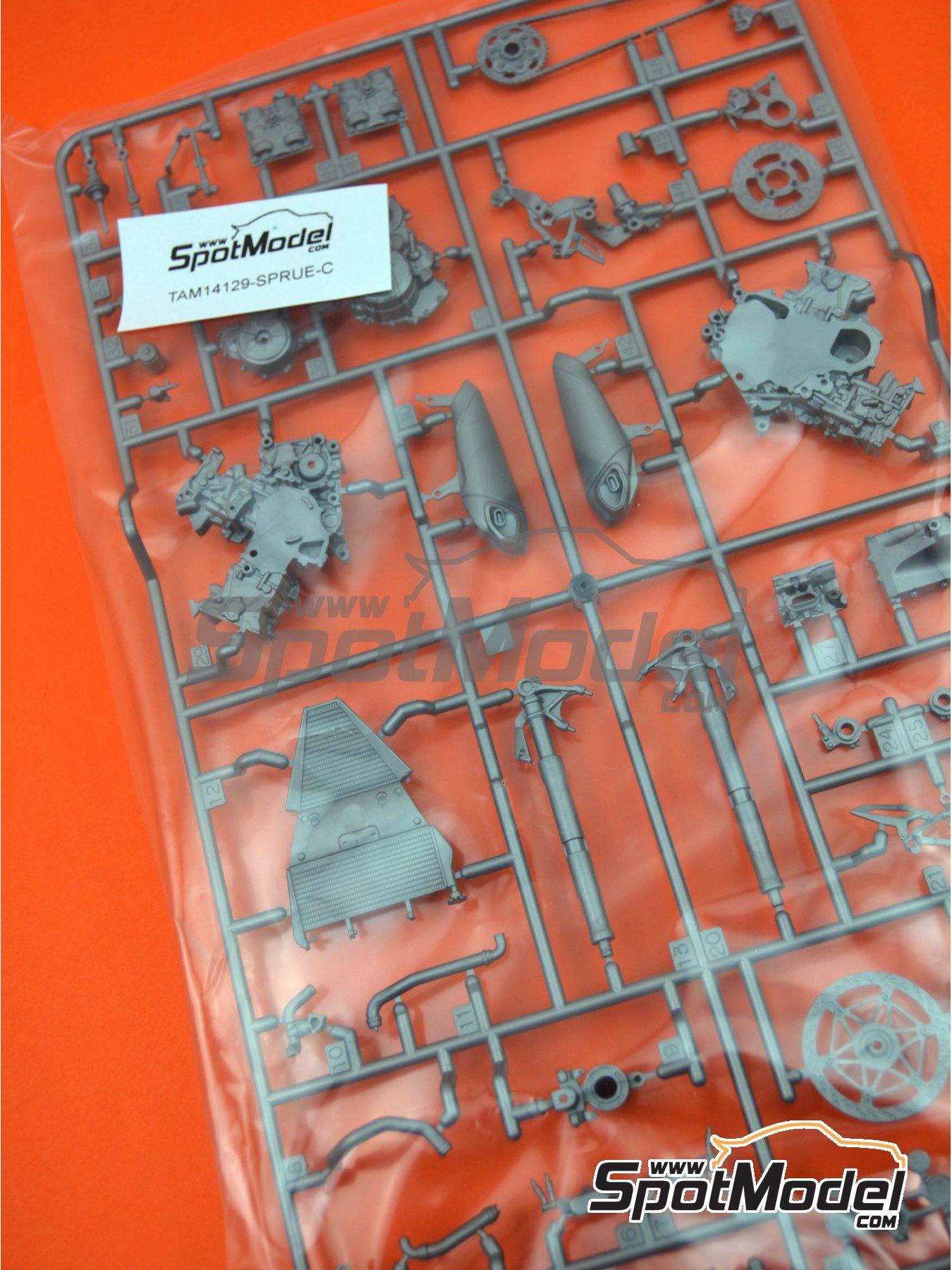 Ducati 1199 Panigale S: Partes C   Pieza de reemplazo en escala1/12 fabricado por Tamiya (ref.TAM14129-SPRUE-C) image