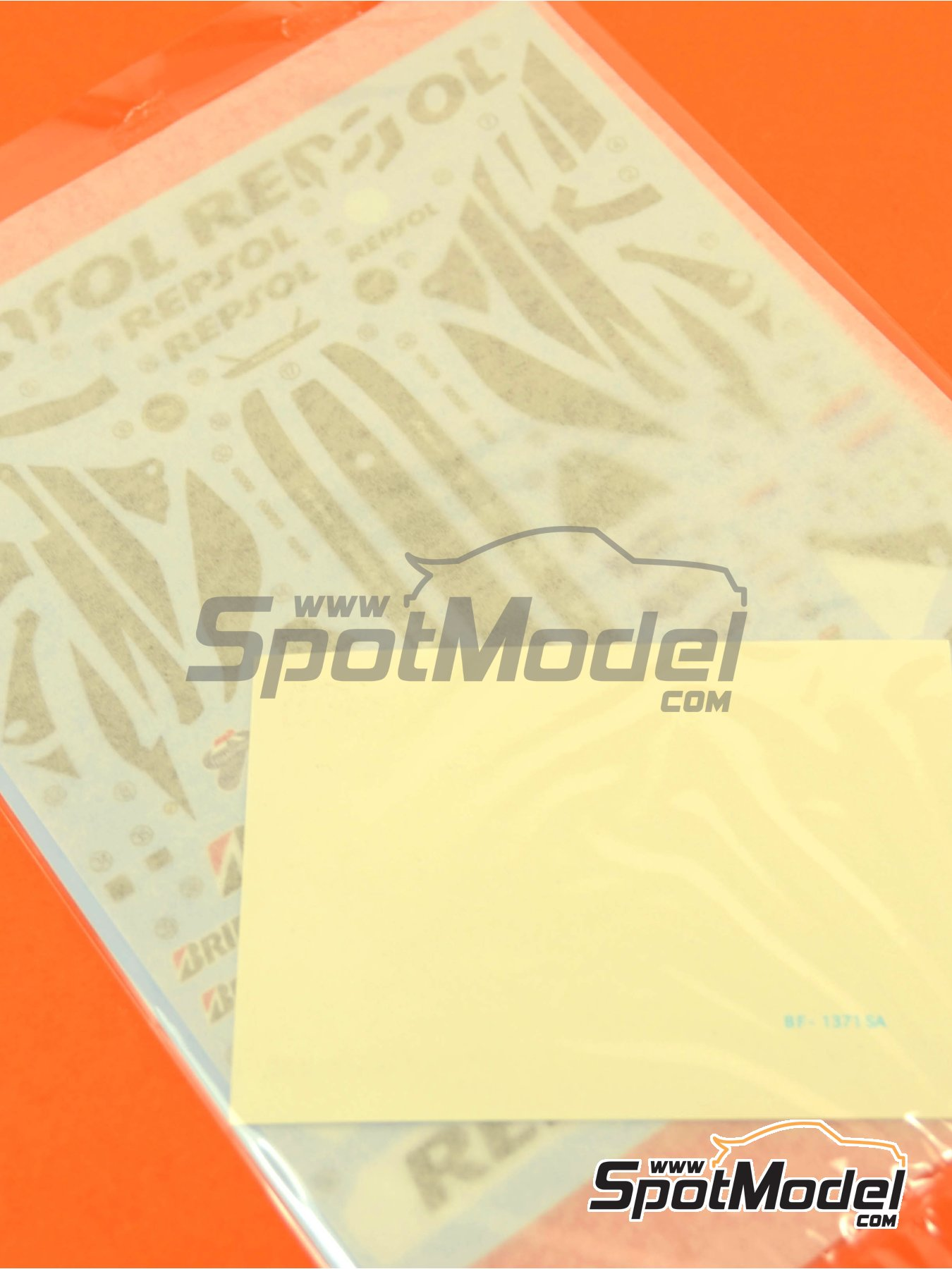 Honda RC213V: Decals | Spare part in 1/12 scale manufactured by Tamiya (ref. TAM14130-DECALS) image
