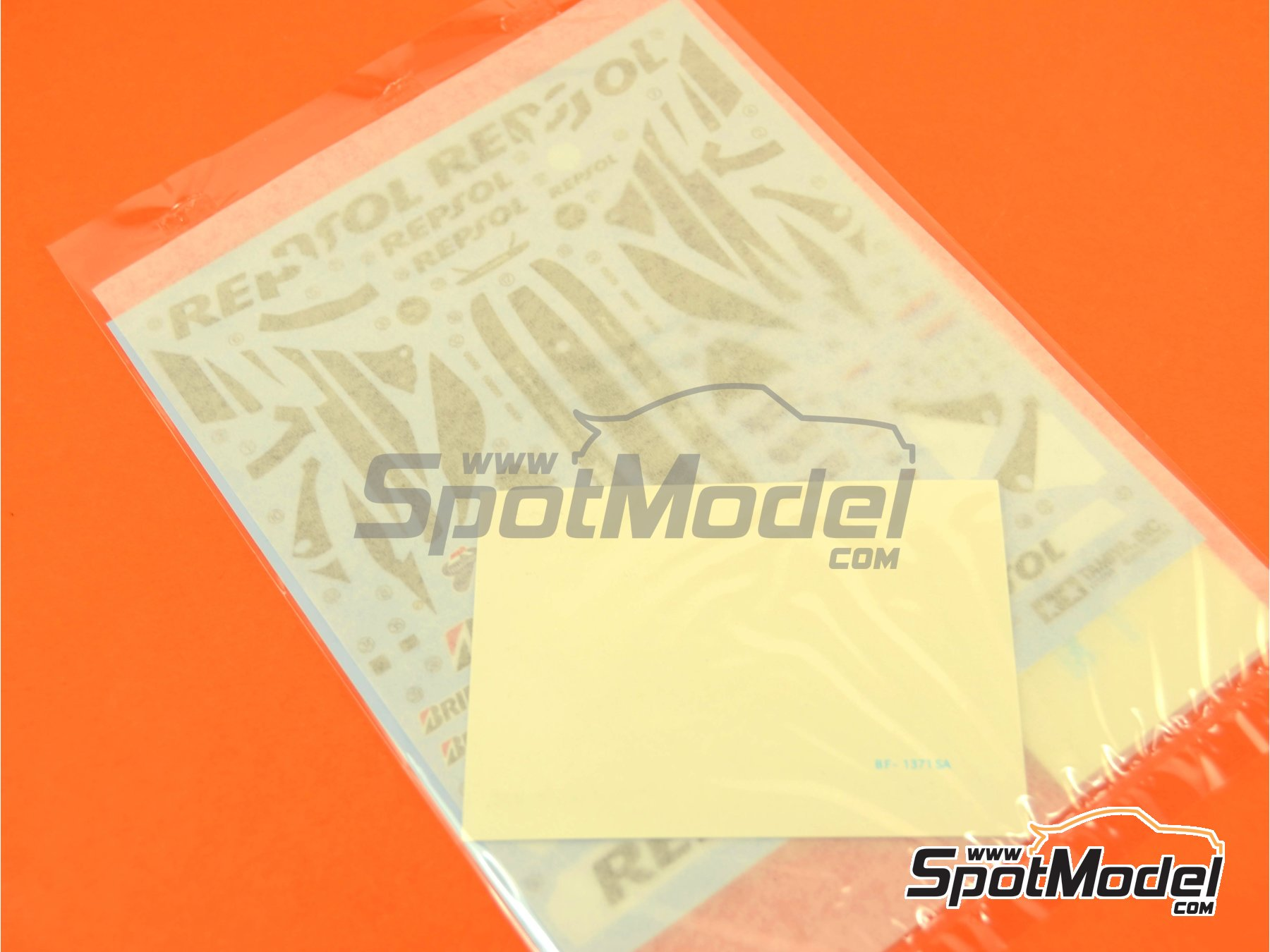 Image 1: Honda RC213V: Decals | Spare part in 1/12 scale manufactured by Tamiya (ref. TAM14130-DECALS)