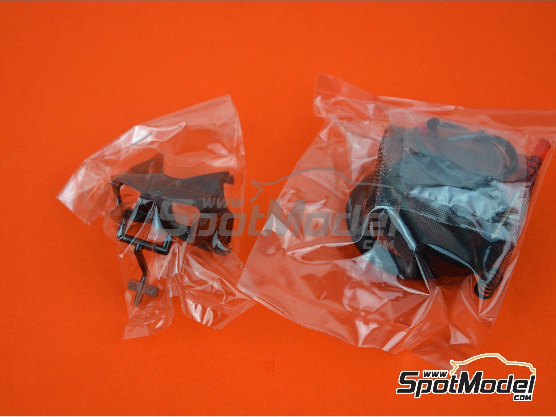 Image 17: Kawasaki Ninja H2R | Maqueta de moto en escala1/12 fabricado por Tamiya (ref.TAM14131)