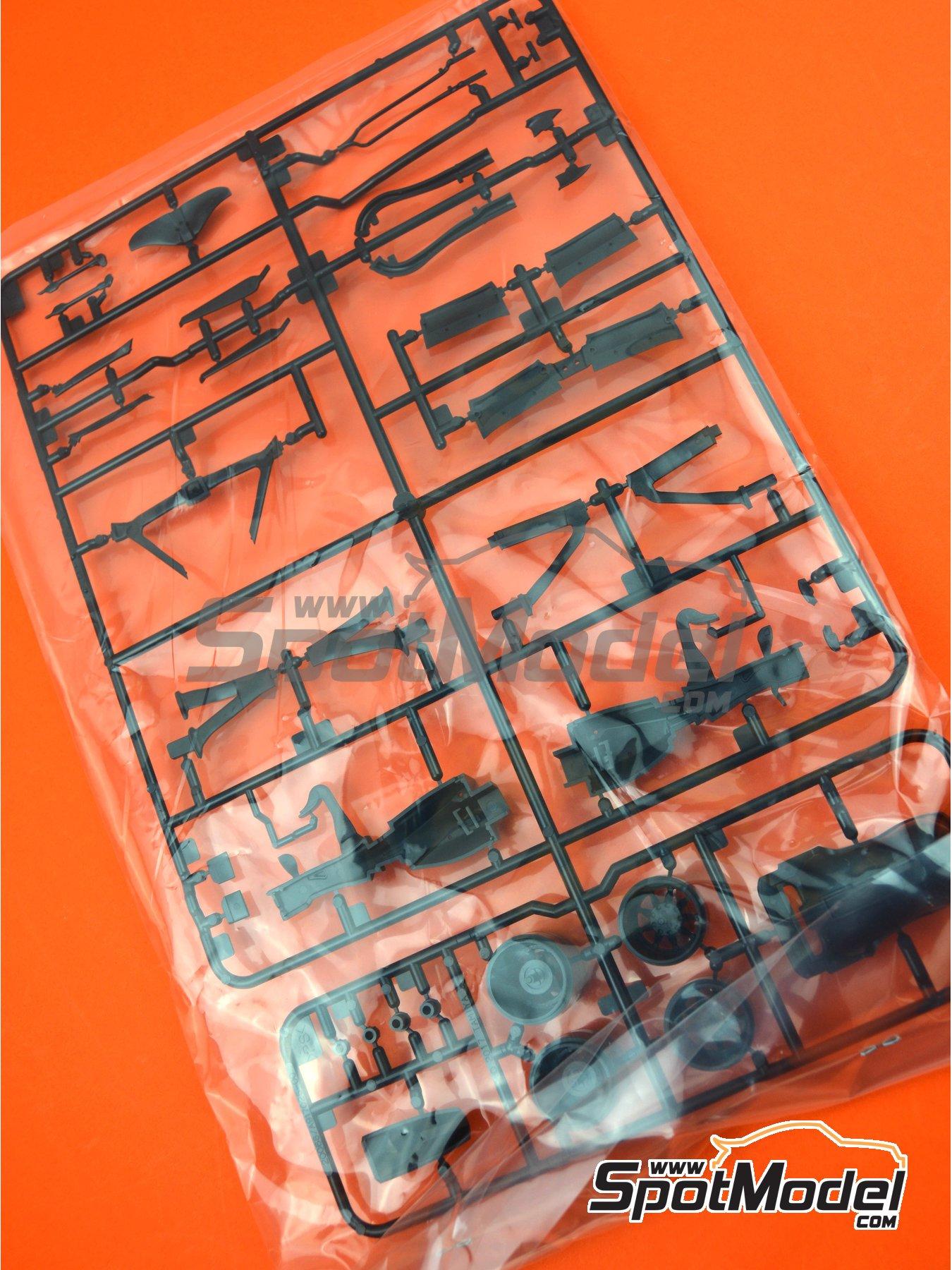 Ferrari SF70H: Partes E y F | Pieza de reemplazo en escala1/20 fabricado por Tamiya (ref.TAM20068-SPRUE-E-F) image