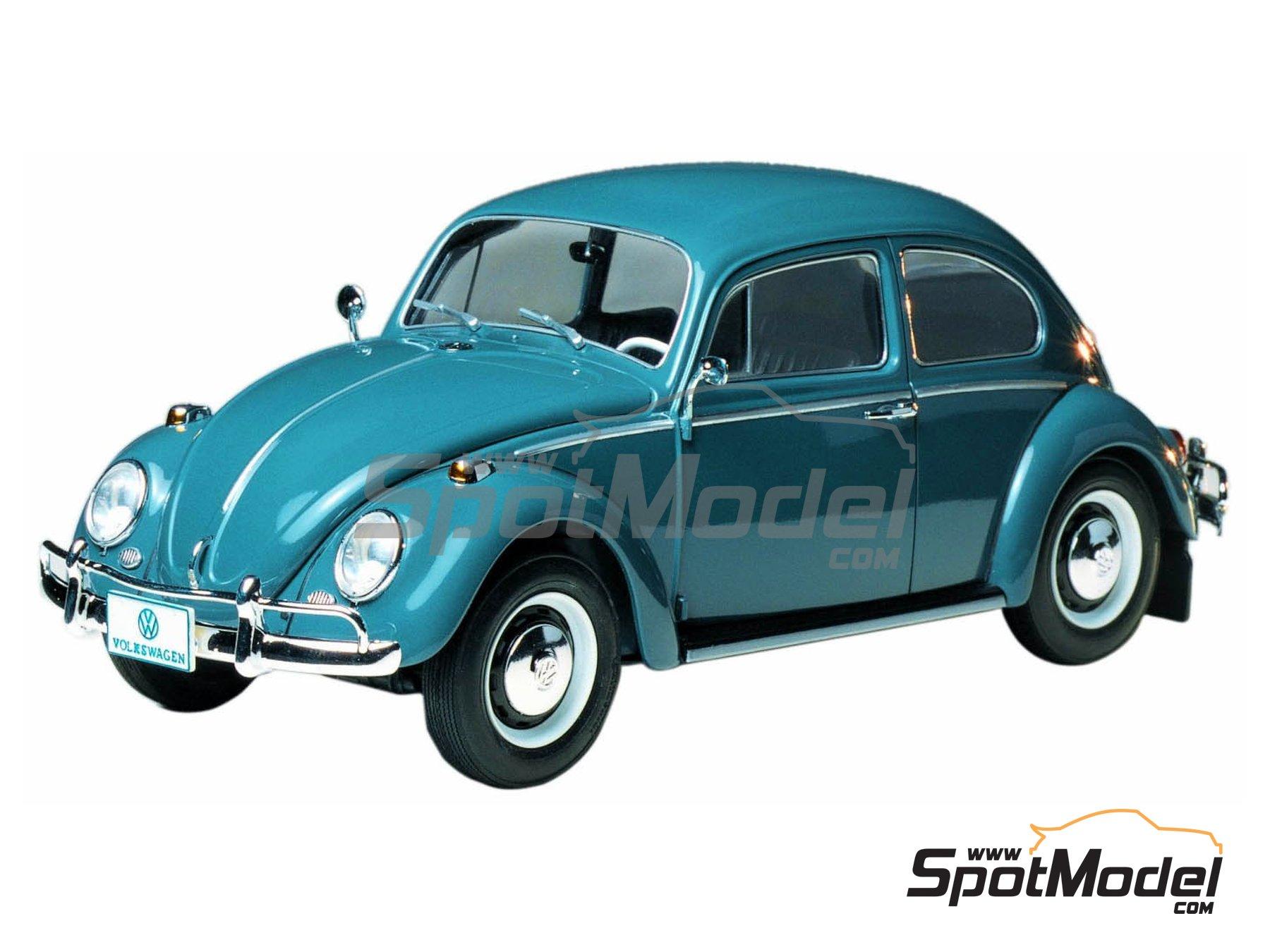 Image 1: Volkswagen Beetle 1300 -  1966 | Maqueta de coche en escala1/24 fabricado por Tamiya (ref.TAM24136, tambien 24136)