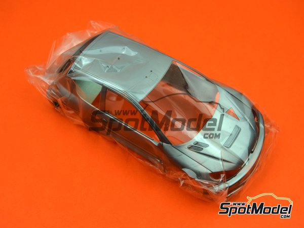Image 3: Peugeot 206 WRC Clarion - Montecarlo Rally 2006 | Model car kit in 1/24 scale manufactured by Tamiya (ref. TAM24226, also 24226)