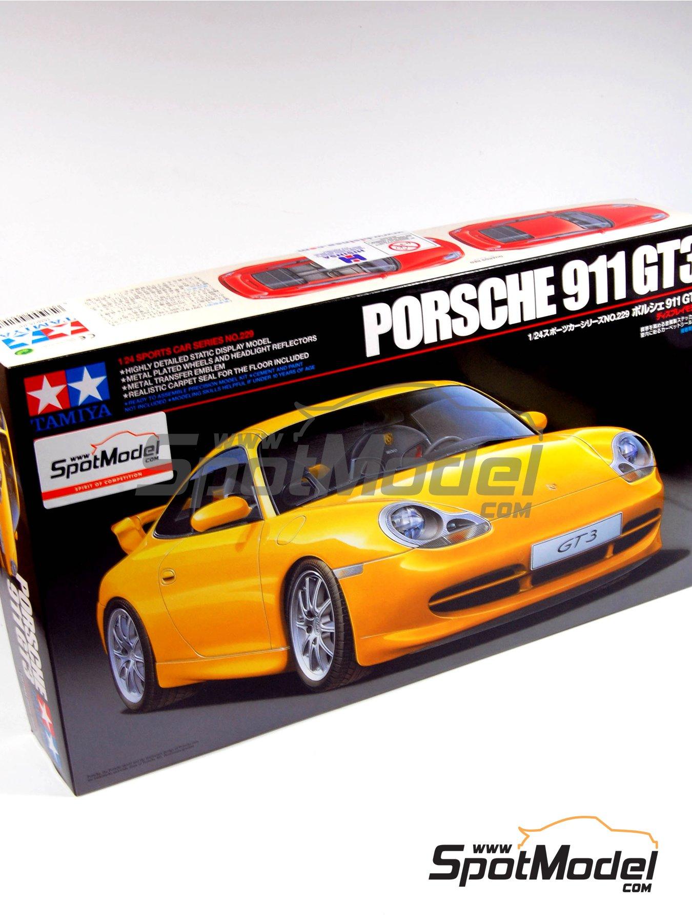 Tamiya: Model car kit 1/24 scale - Porsche 911 996 GT3 (ref ...