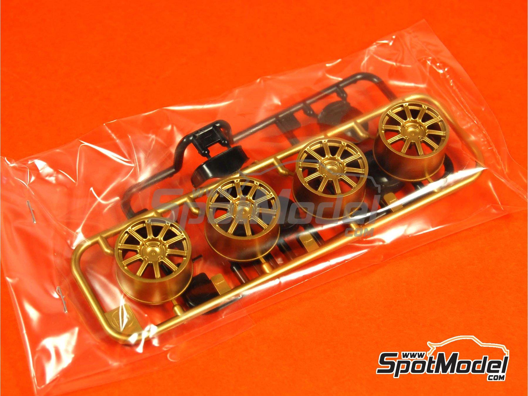 Image 7: Subaru Impreza WRC - Montecarlo Rally - Rallye Automobile de Monte-Carlo 2005 | Model car kit in 1/24 scale manufactured by Tamiya (ref.TAM24281, also 24281)