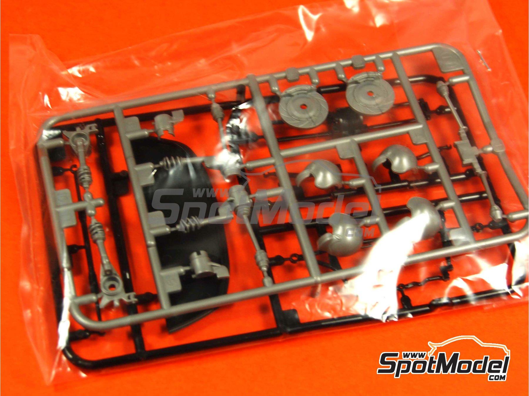 Image 8: Subaru Impreza WRC - Montecarlo Rally - Rallye Automobile de Monte-Carlo 2005 | Model car kit in 1/24 scale manufactured by Tamiya (ref.TAM24281, also 24281)