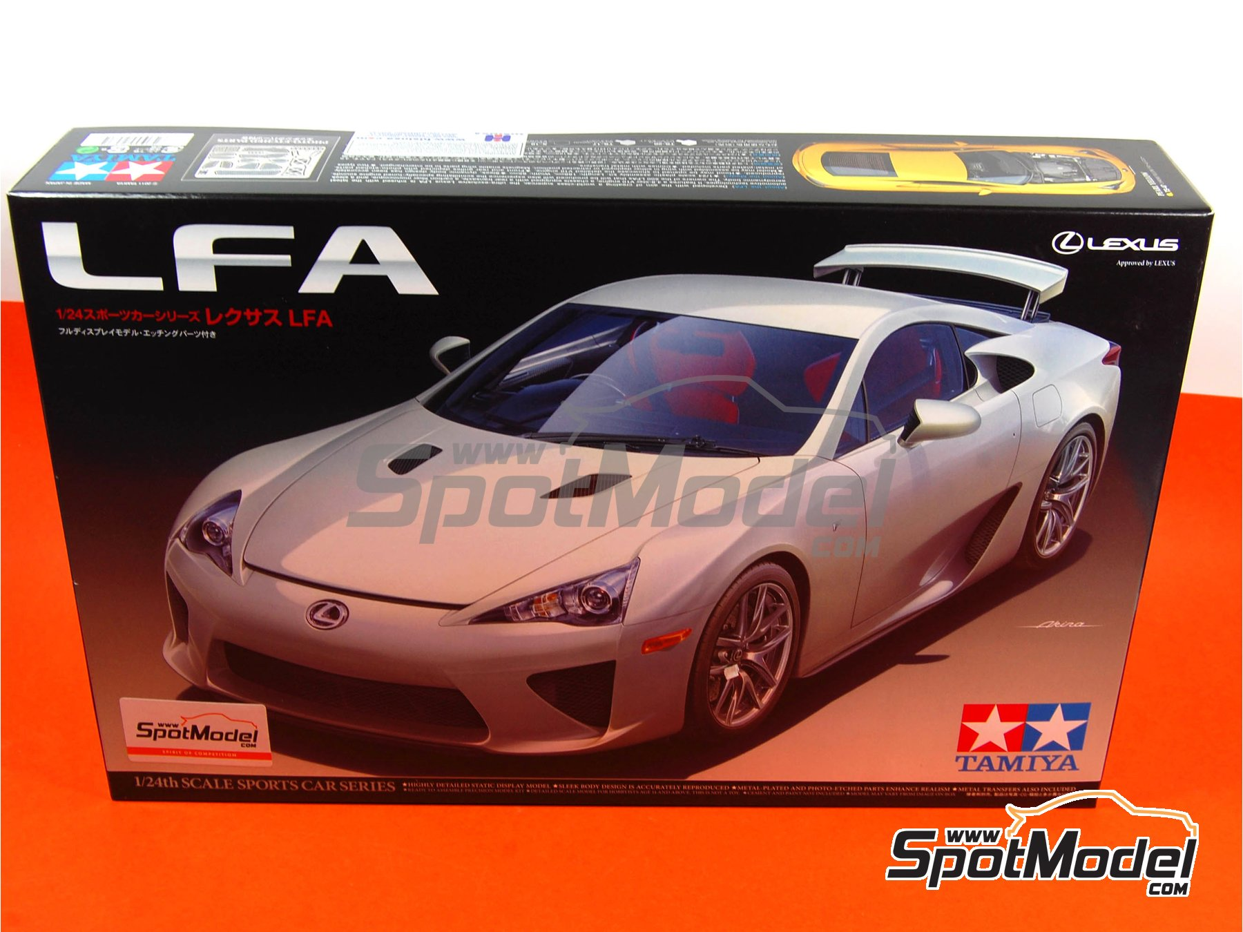 Image 1: Lexus LFA | Model Car Kit In 1/24 Scale Manufactured By ...