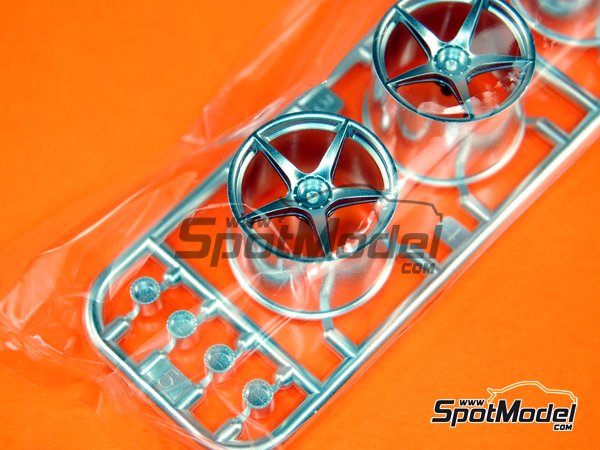 Image 1: Ferrari Laferrari: Sprue B | Spare part in 1/24 scale manufactured by Tamiya (ref. TAM24333-SPRUE-B)