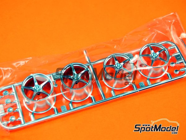 Image 2: Ferrari Laferrari: Sprue B | Spare part in 1/24 scale manufactured by Tamiya (ref. TAM24333-SPRUE-B)