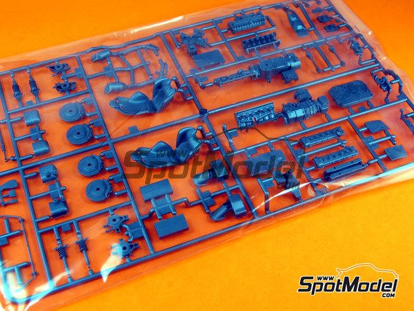 Image 1: Ferrari Laferrari: Sprue C | Spare part in 1/24 scale manufactured by Tamiya (ref. TAM24333-SPRUE-C)