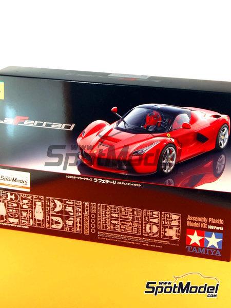 Ferrari Laferrari | Maqueta de coche en escala1/24 fabricado por Tamiya (ref.TAM24333, tambien 24333) image