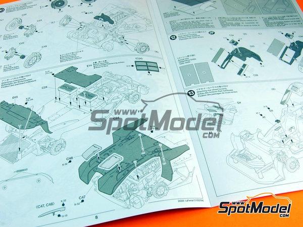 Image 14: Ferrari Laferrari | Maqueta de coche en escala1/24 fabricado por Tamiya (ref.TAM24333, tambien 24333)