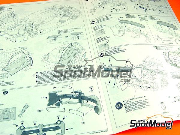 Image 16: Ferrari Laferrari | Maqueta de coche en escala1/24 fabricado por Tamiya (ref.TAM24333, tambien 24333)