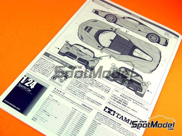 Image 17: Ferrari Laferrari | Maqueta de coche en escala1/24 fabricado por Tamiya (ref.TAM24333, tambien 24333)