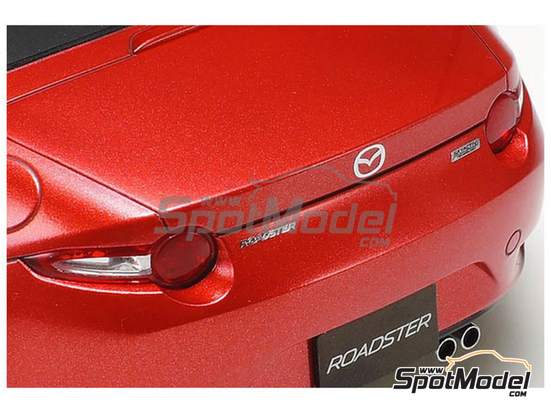 Image 4: Mazda MX-5  Roadster | Model car kit in 1/24 scale manufactured by Tamiya (ref.TAM24342, also 24342)