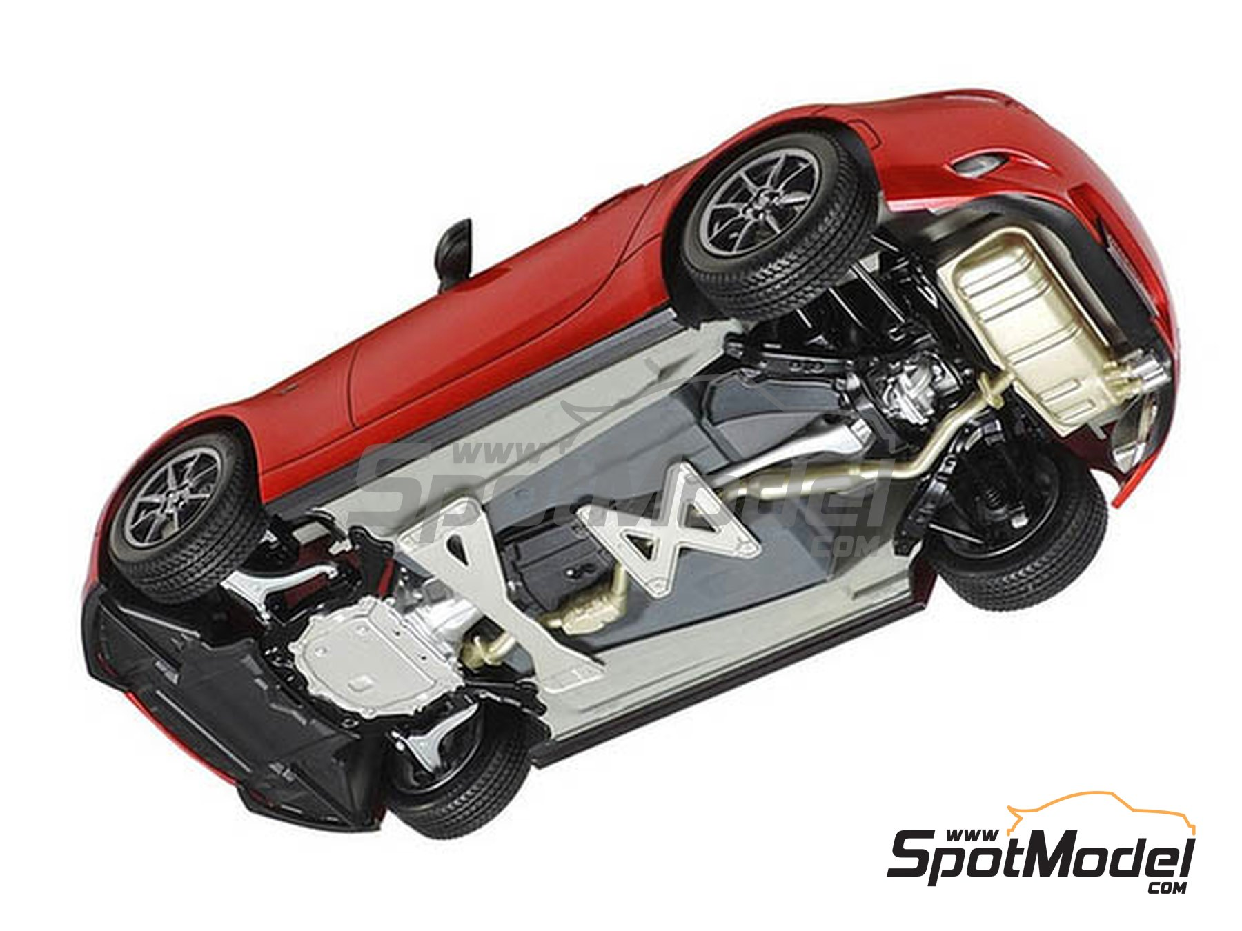 Image 5: Mazda MX-5  Roadster | Model car kit in 1/24 scale manufactured by Tamiya (ref.TAM24342, also 24342)