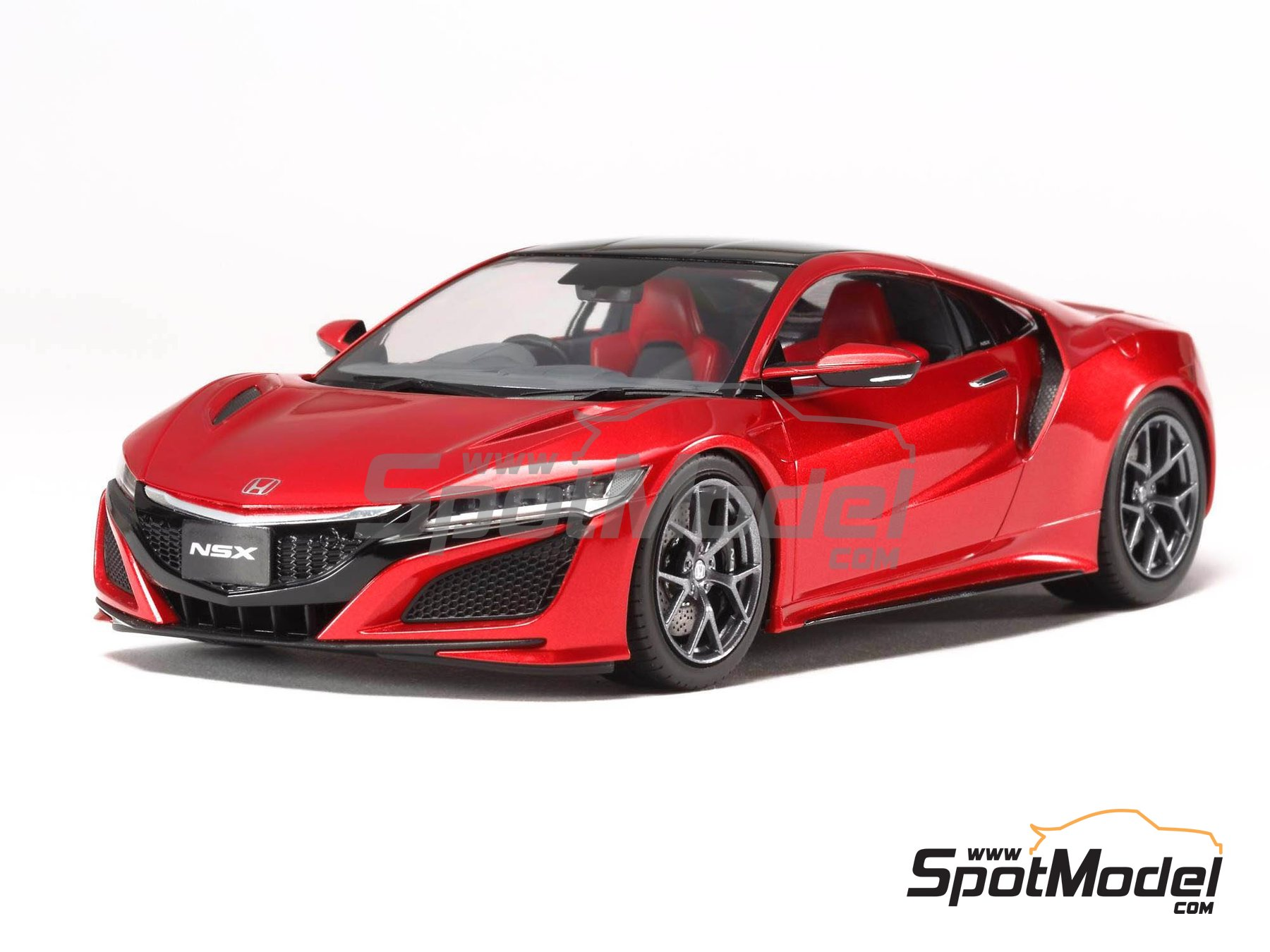 Image 2: Honda Acura NSX | Model car kit in 1/24 scale manufactured by Tamiya (ref. TAM24344)