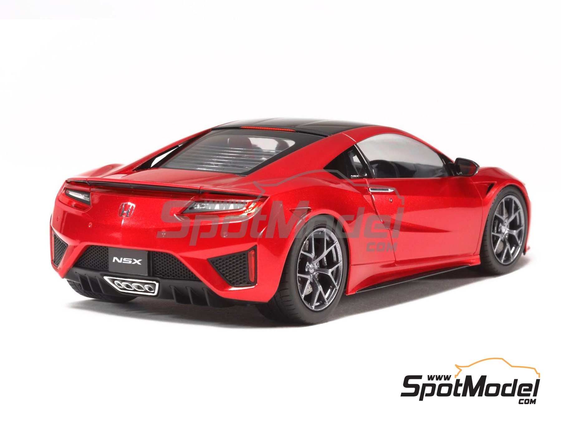Image 3: Honda Acura NSX | Model car kit in 1/24 scale manufactured by Tamiya (ref. TAM24344)
