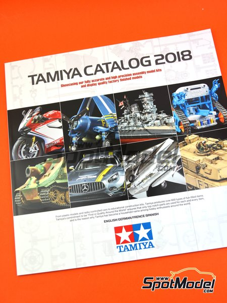 Tamiya catalog 2018 | Catalogue manufactured by Tamiya (ref. TAM64413) image