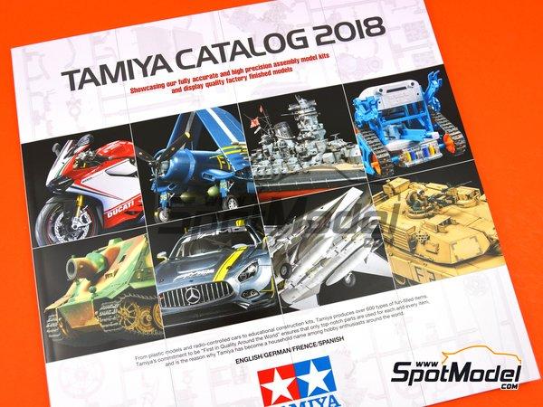 Image 1: Catálogo Tamiya 2018 | Catálogo fabricado por Tamiya (ref.TAM64413)