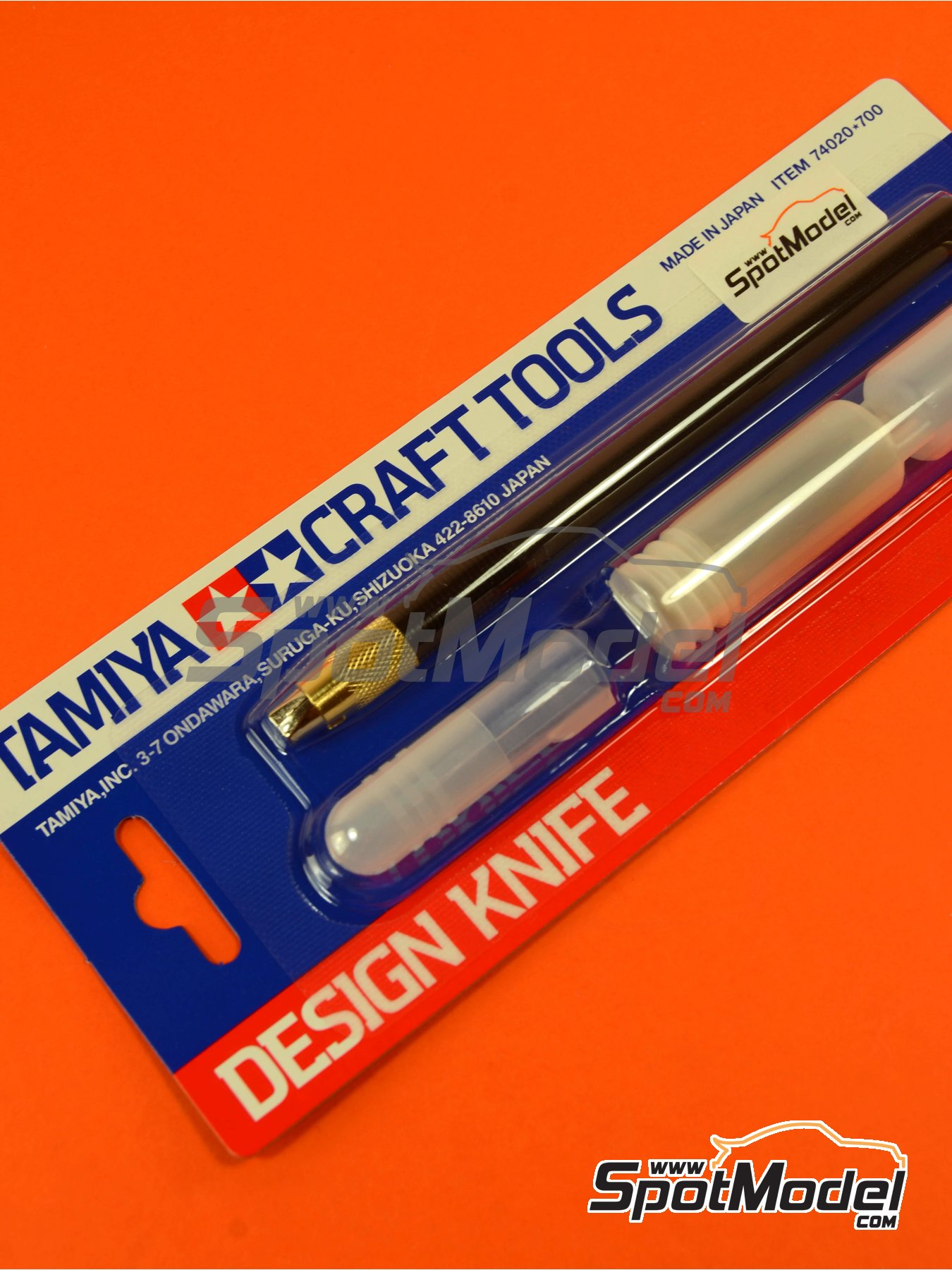 Design knife craft tools | Tools manufactured by Tamiya (ref.TAM74020) image
