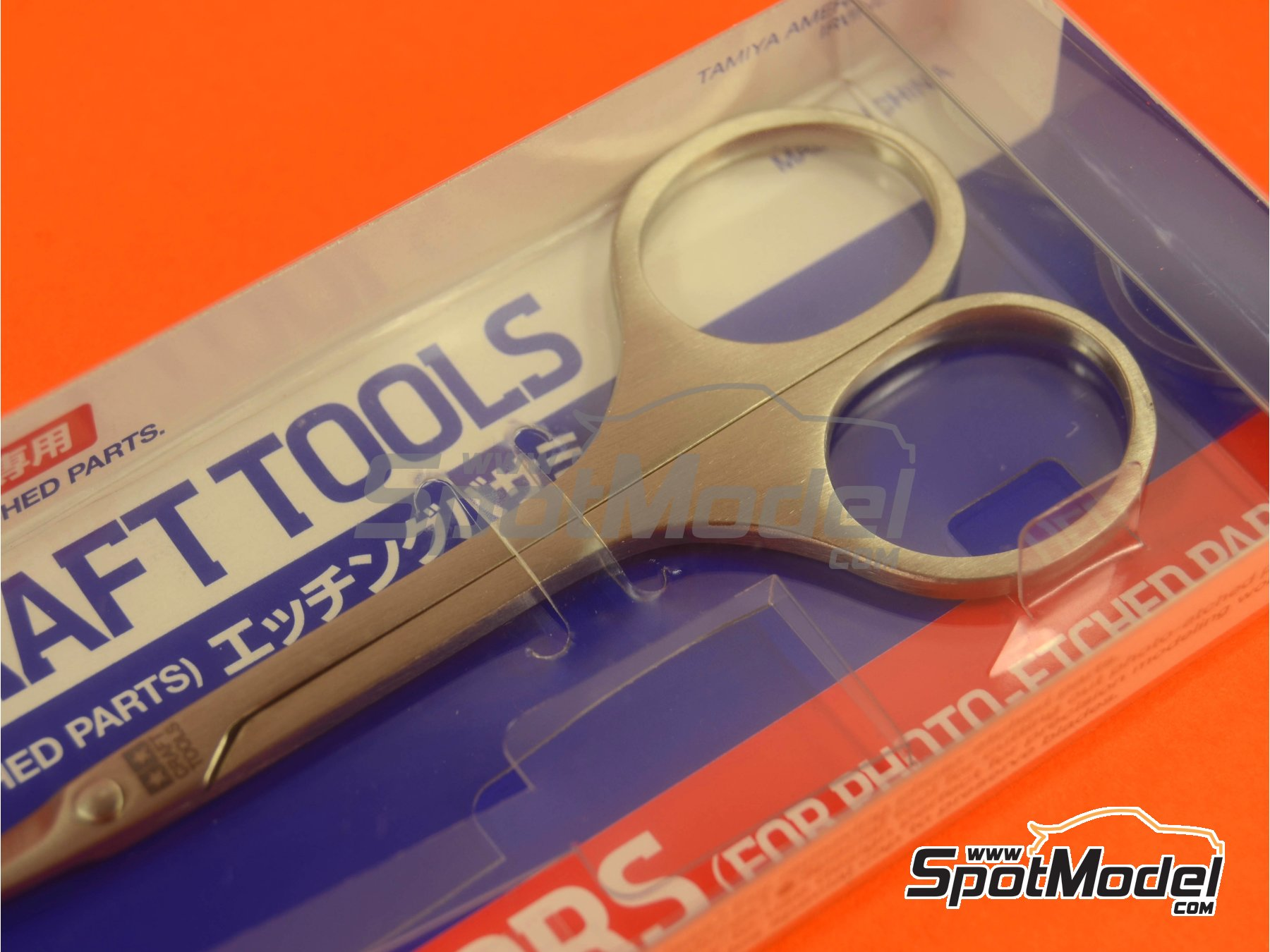 Image 1: Scissors for phoetched parts | Tools manufactured by Tamiya (ref. TAM74068)