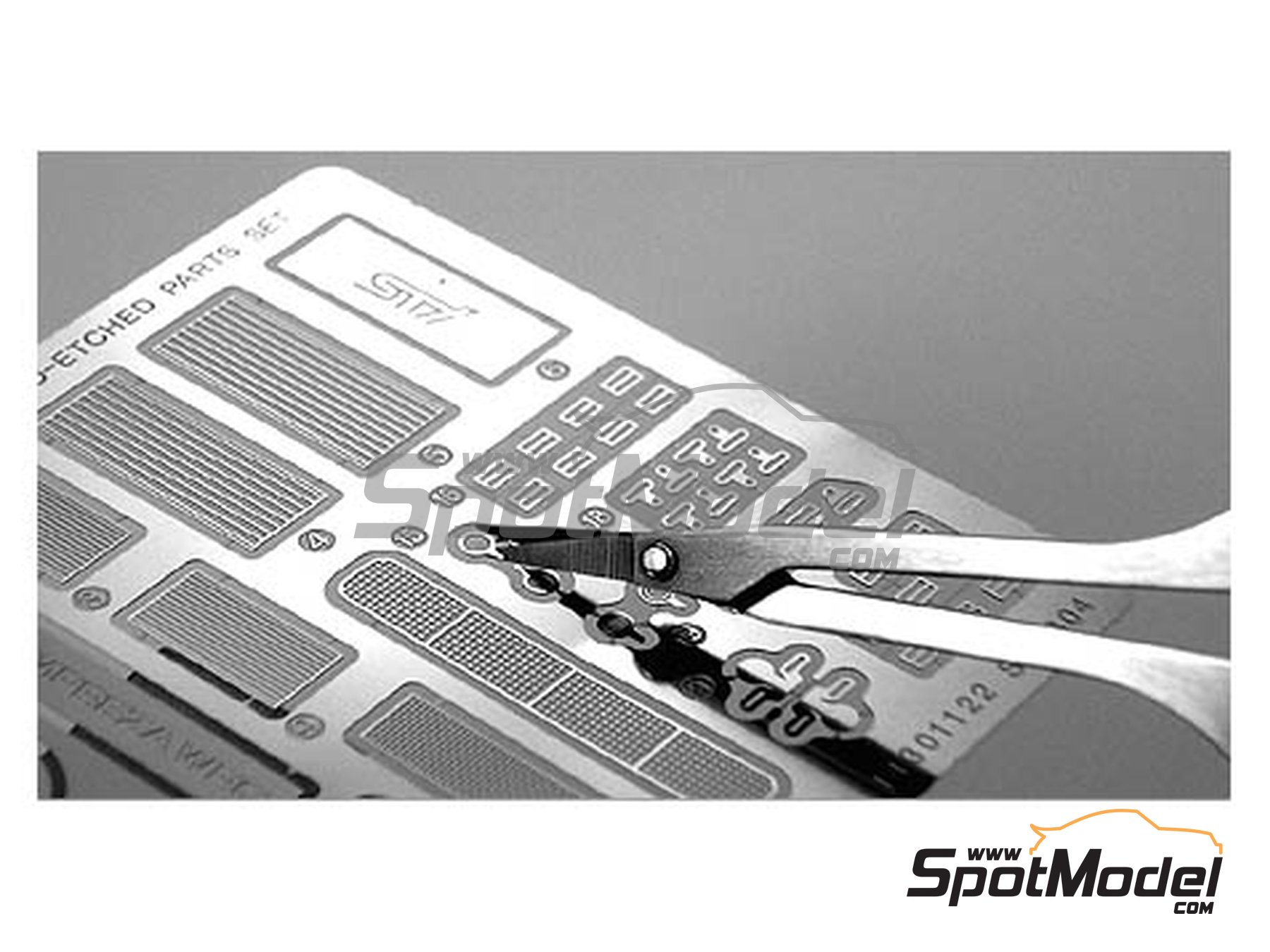 Image 6: Scissors for phoetched parts | Tools manufactured by Tamiya (ref. TAM74068)