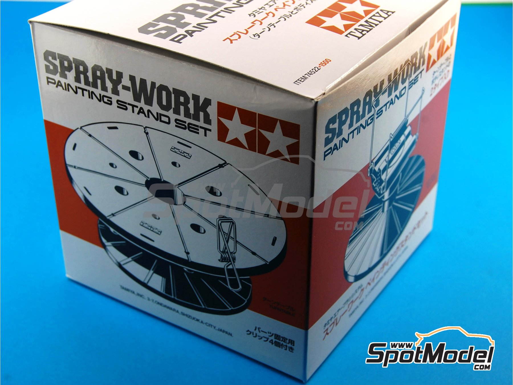 Image 1: Spray-Work painting stand set | Tools manufactured by Tamiya (ref. TAM74522)