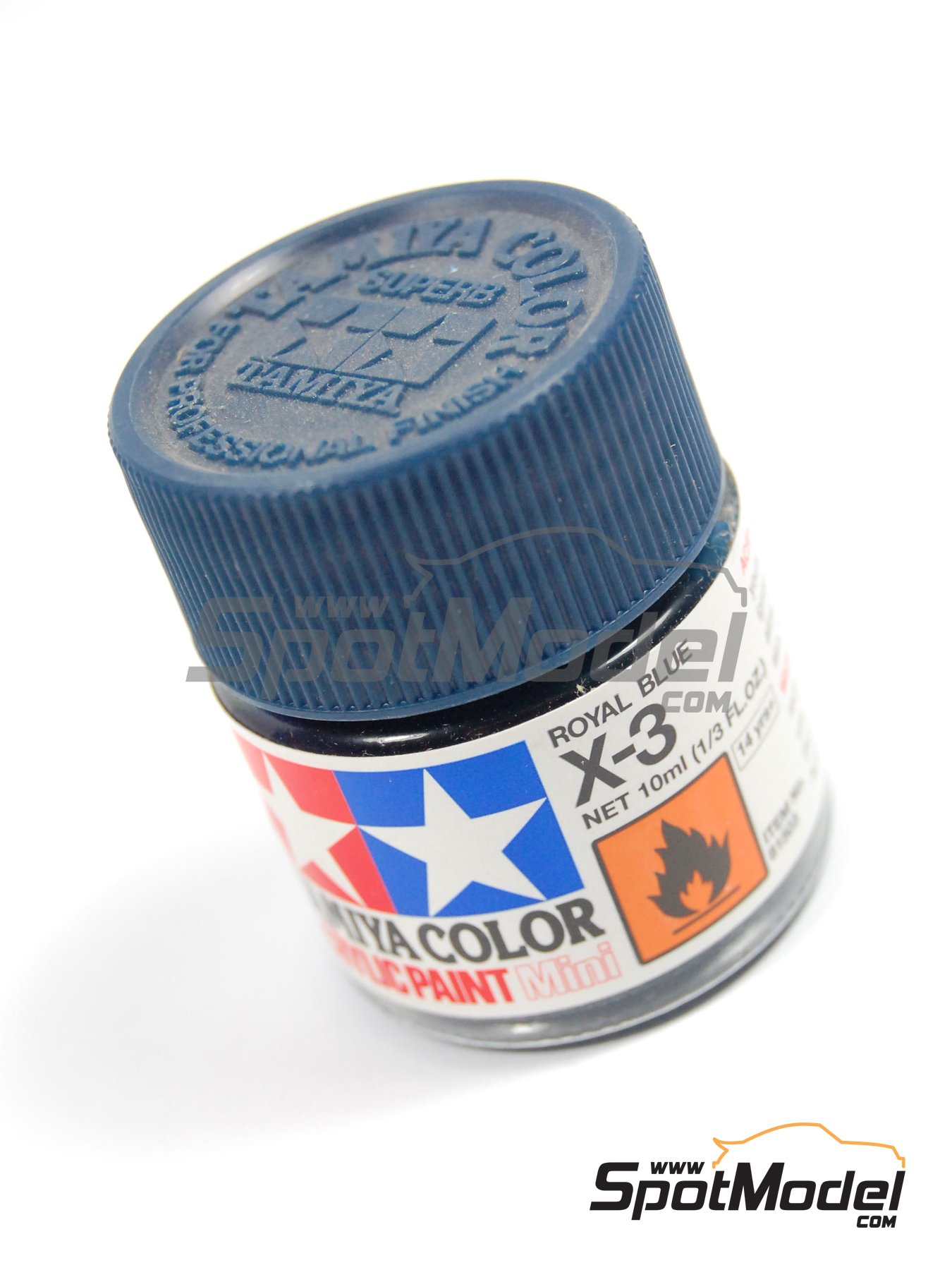 Royal blue X-3 - 1 x 10ml   Acrylic paint manufactured by Tamiya (ref.TAM81503) image