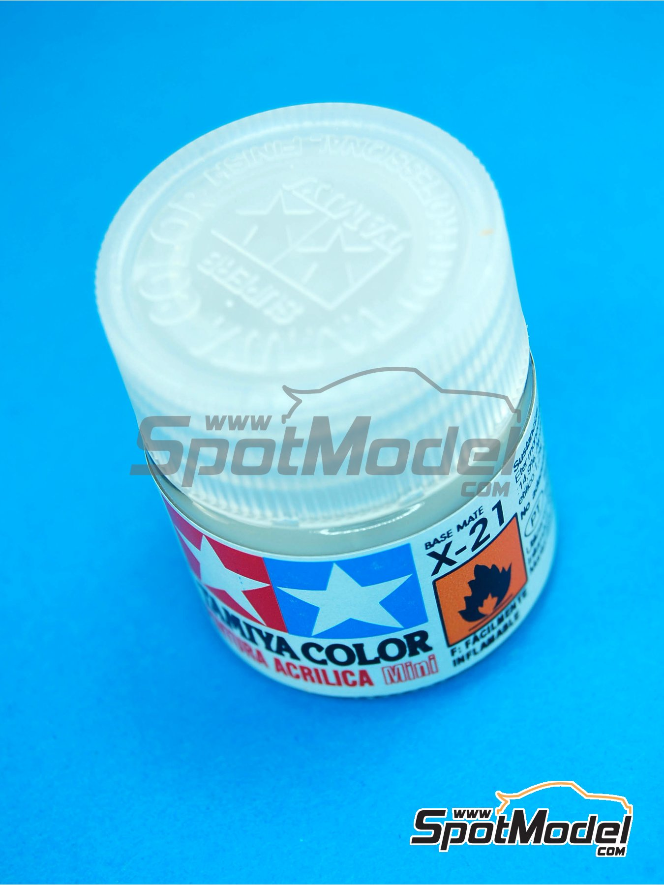 Flat Base X-21 | Clearcoat manufactured by Tamiya (ref. TAM81521) image