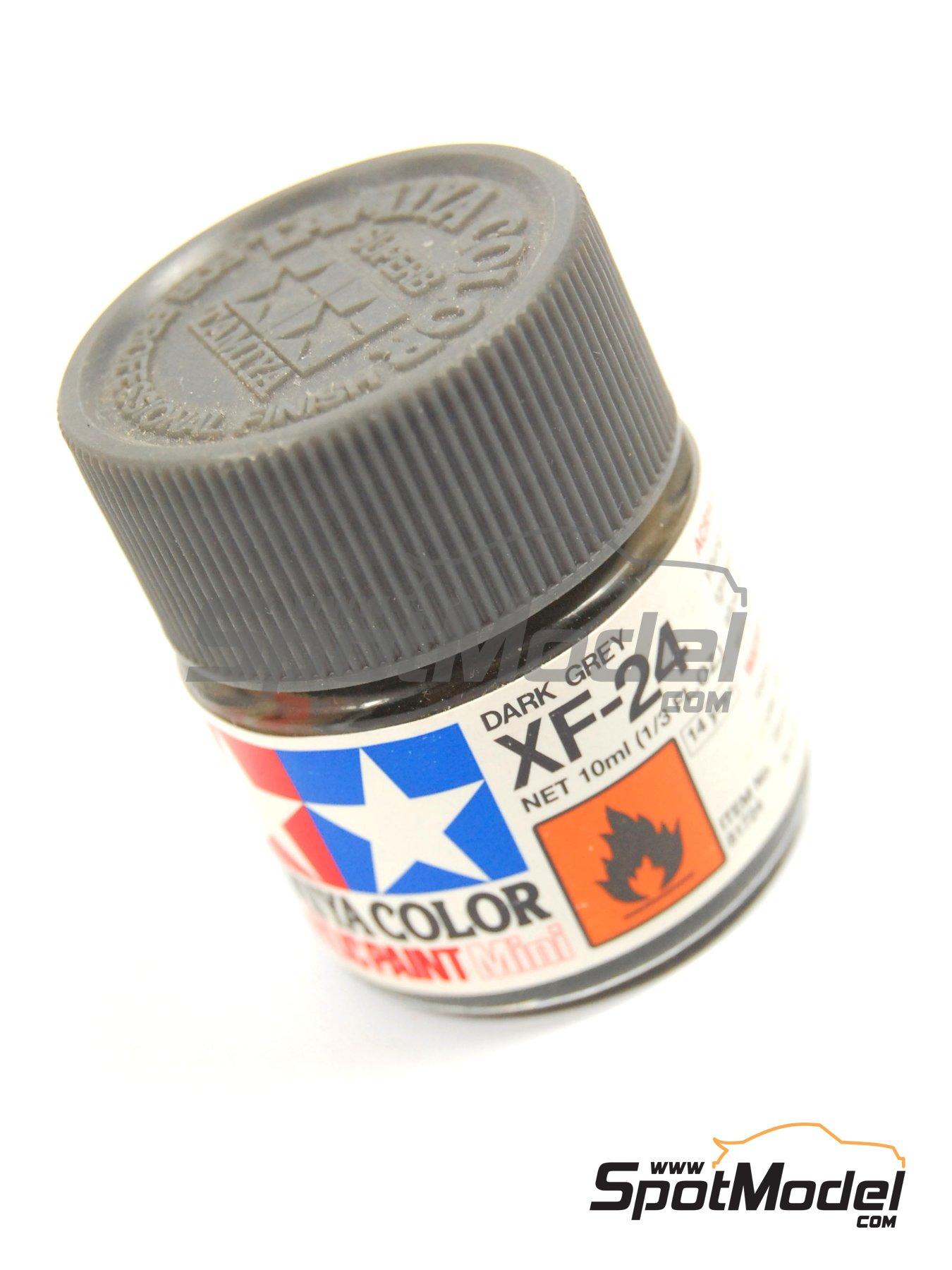 Dark Grey XF-24 - 1 x 10ml | Acrylic paint manufactured by Tamiya (ref.TAM81724) image
