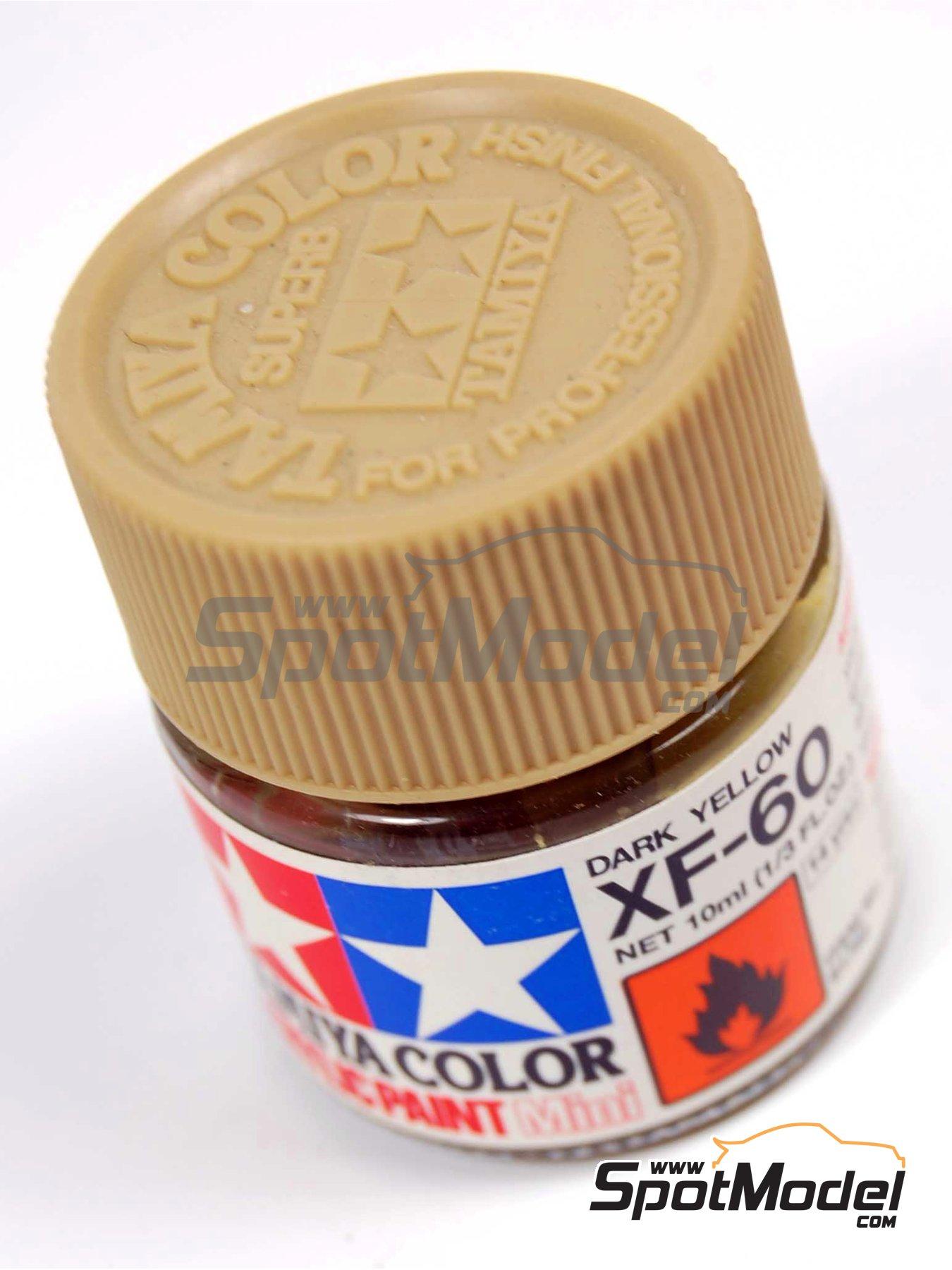 Dark yellow XF-60 - 1 x 10ml | Acrylic paint manufactured by Tamiya (ref.TAM81760) image