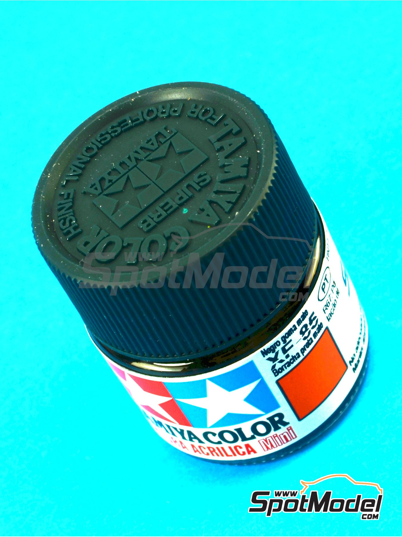 Rubber black XF-85 - 1 x 10ml   Acrylic paint manufactured by Tamiya (ref.TAM81785) image