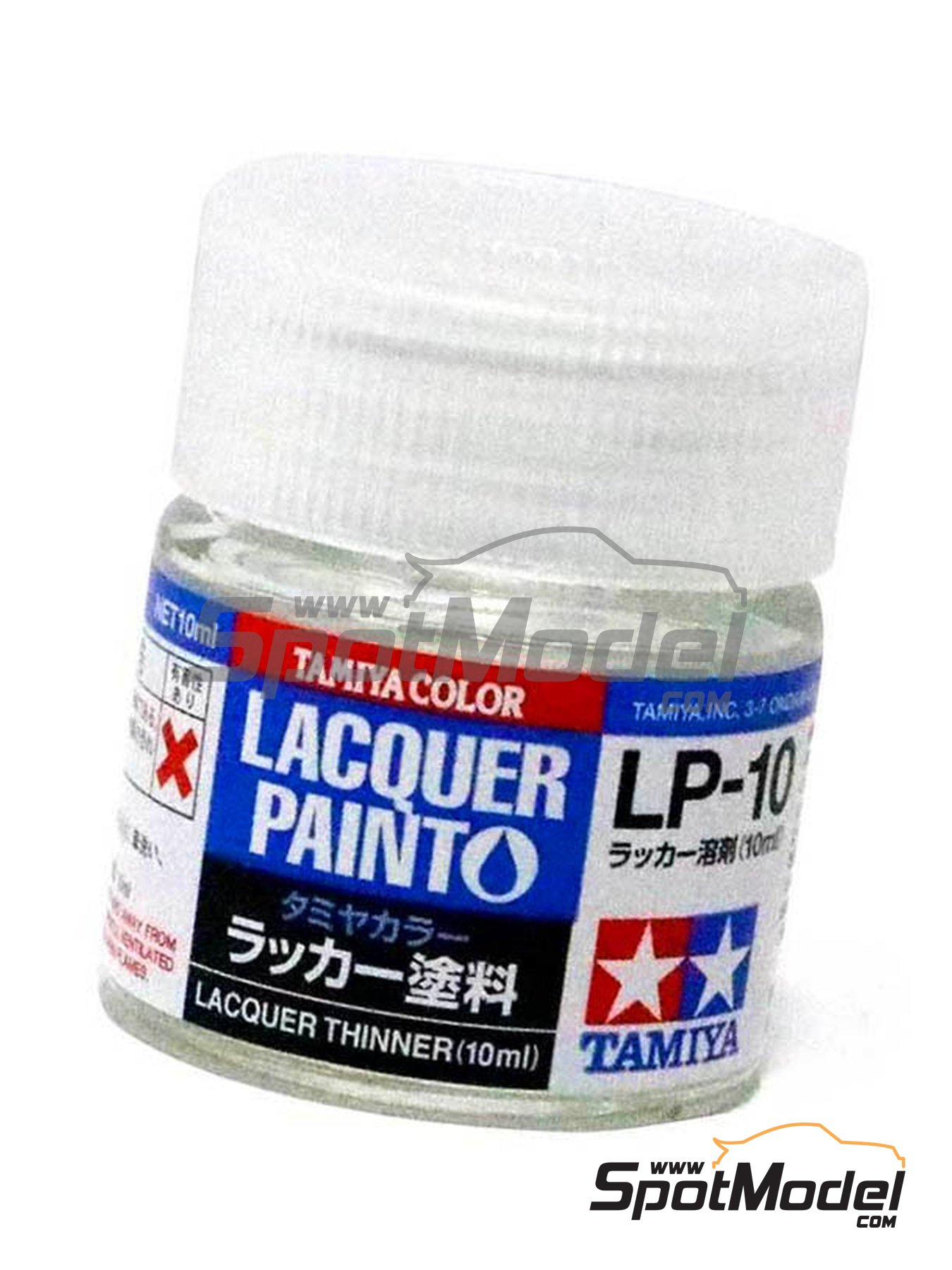 Thinner LP-10 | Lacquer paint manufactured by Tamiya (ref. TAM82110) image