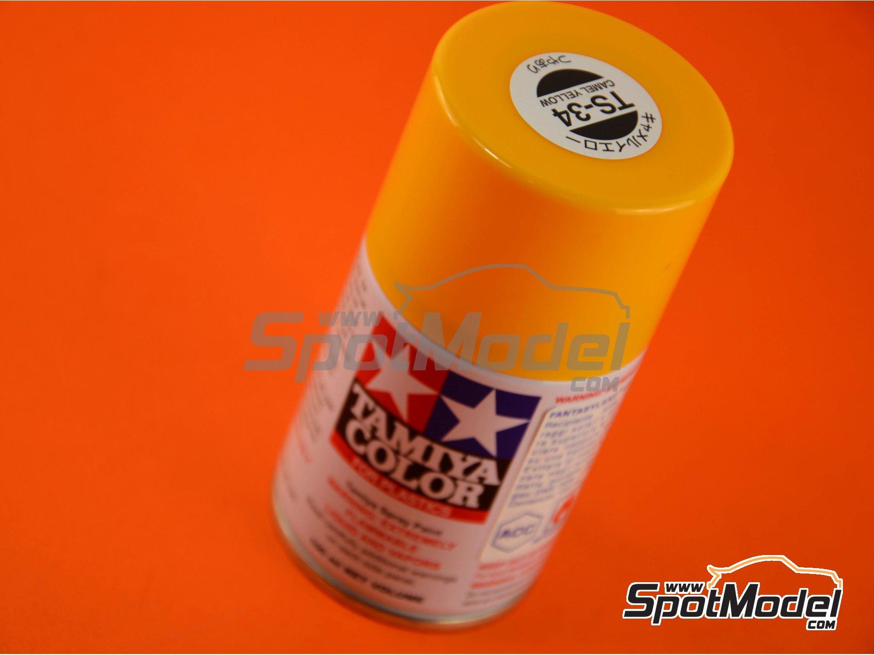 Image 1: Amarillo Camel brillante - TS-34 Camel yellow | Spray fabricado por Tamiya (ref.TAM85034)