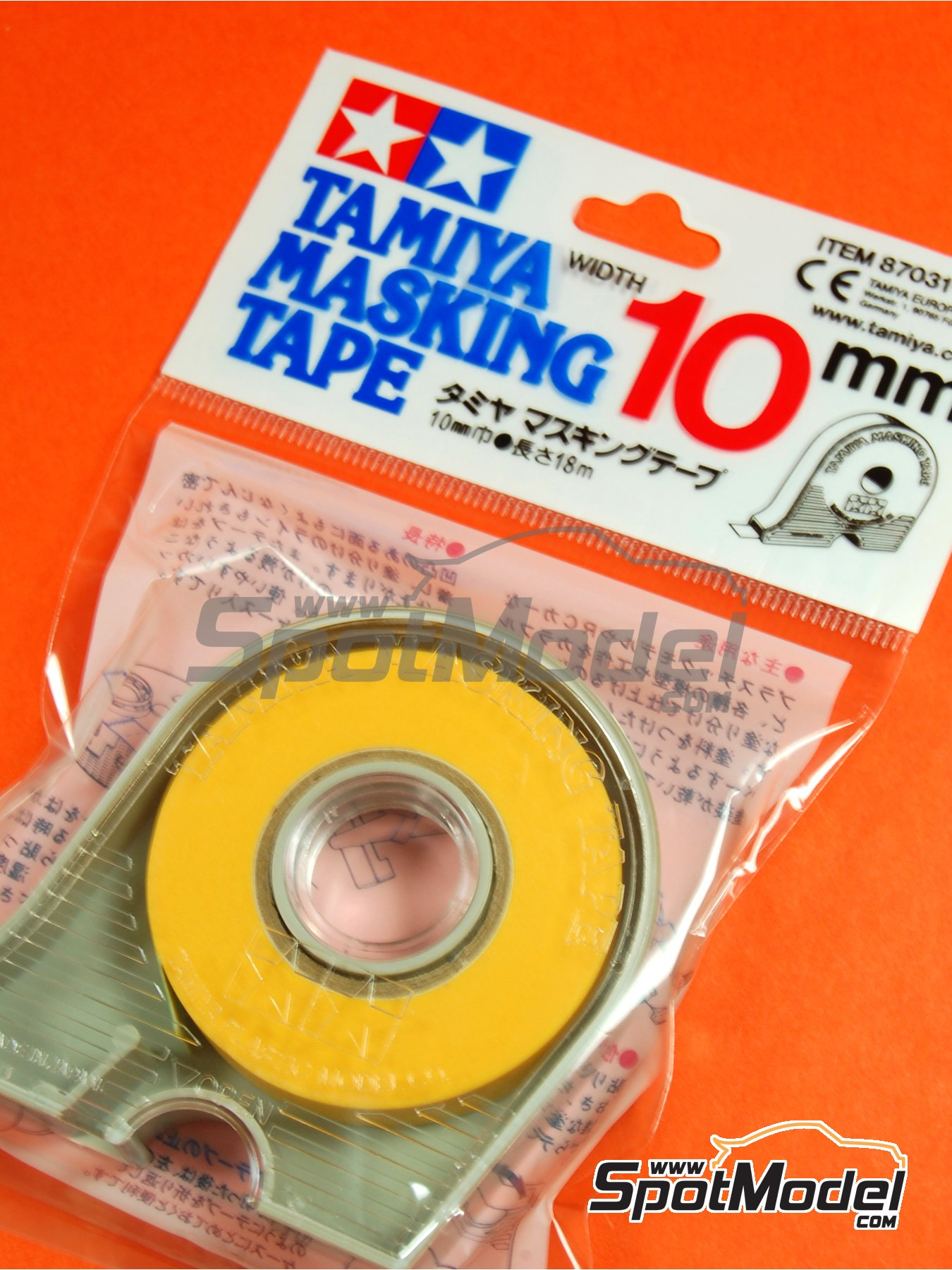 Masking Tape 10mm | Masks manufactured by Tamiya (ref. TAM87031) image