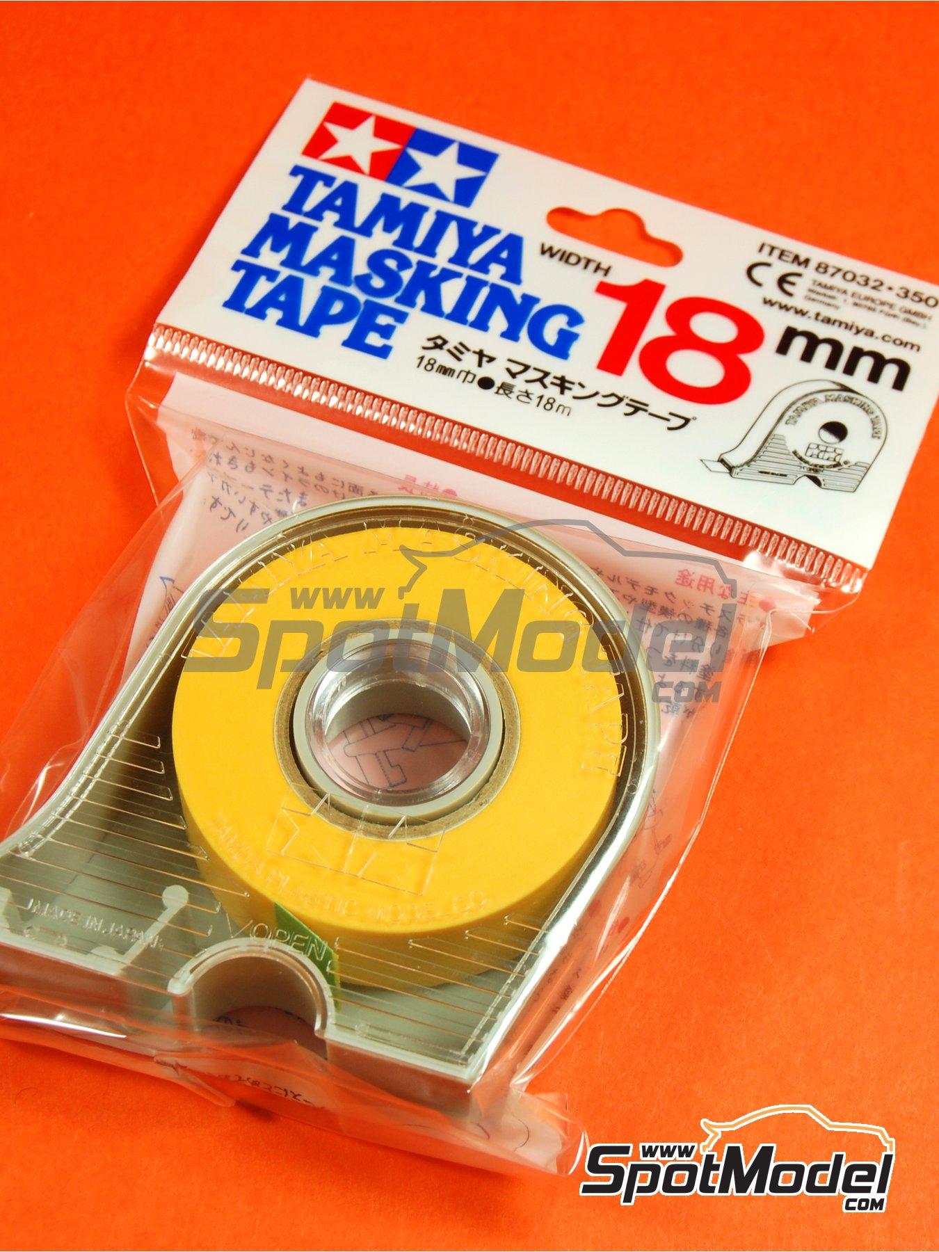 Masking Tape 18mm | Masks manufactured by Tamiya (ref.TAM87032) image