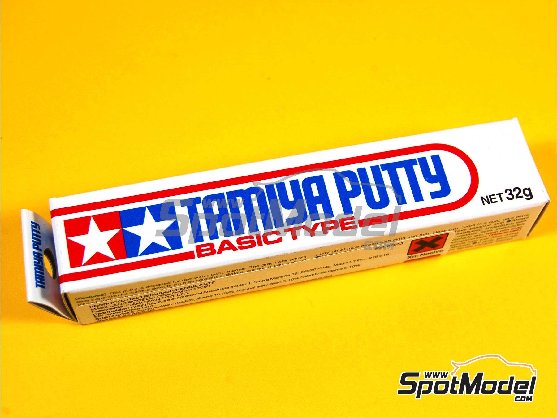 Image 2: Putty basic type - 32grs | Putty manufactured by Tamiya (ref.TAM87053)
