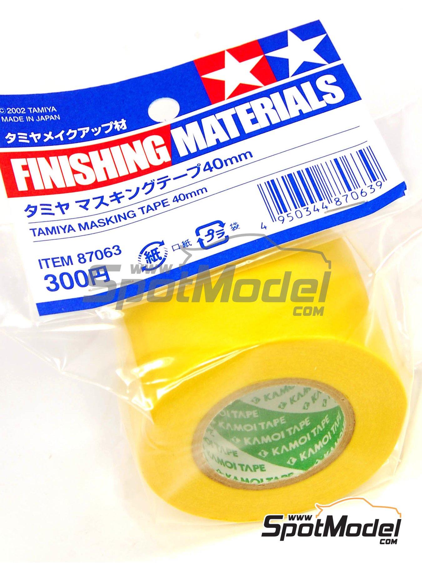 Masking Tape 40mm | Masks manufactured by Tamiya (ref.TAM87063) image