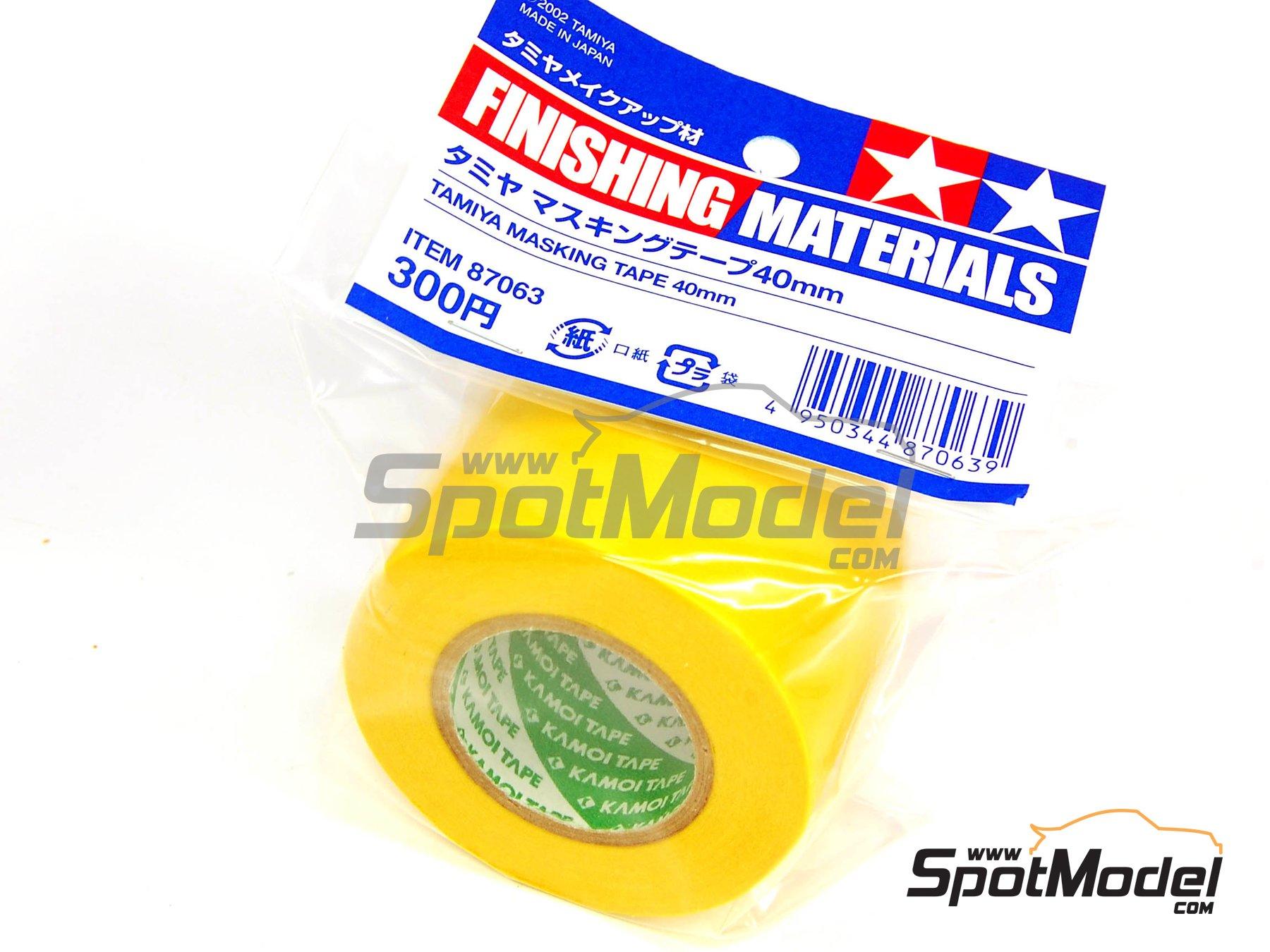 Image 1: Masking Tape 40mm | Masks manufactured by Tamiya (ref.TAM87063)
