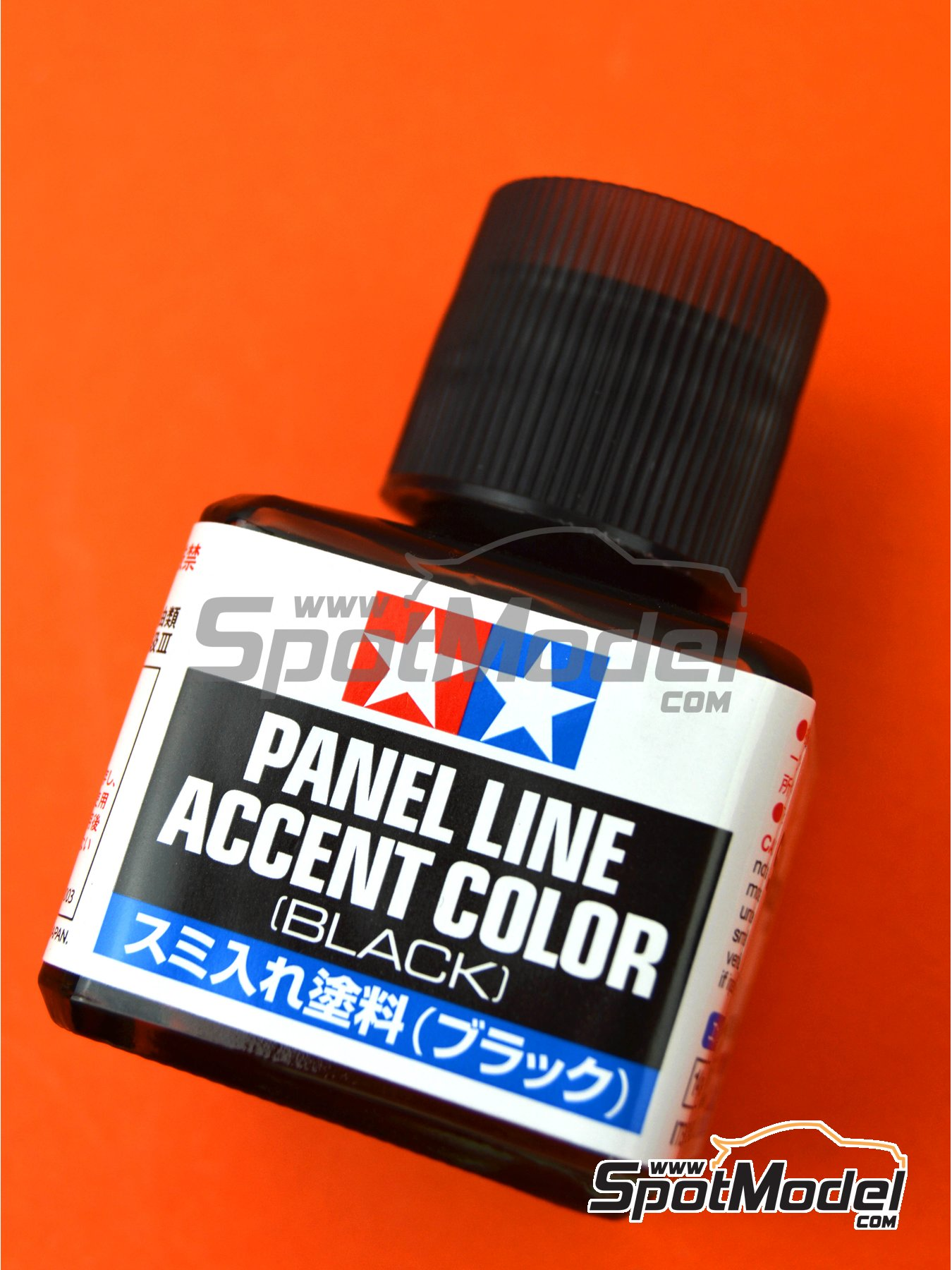 Panel line accent color black - 1 x 40ml | Paint manufactured by Tamiya (ref. TAM87131) image