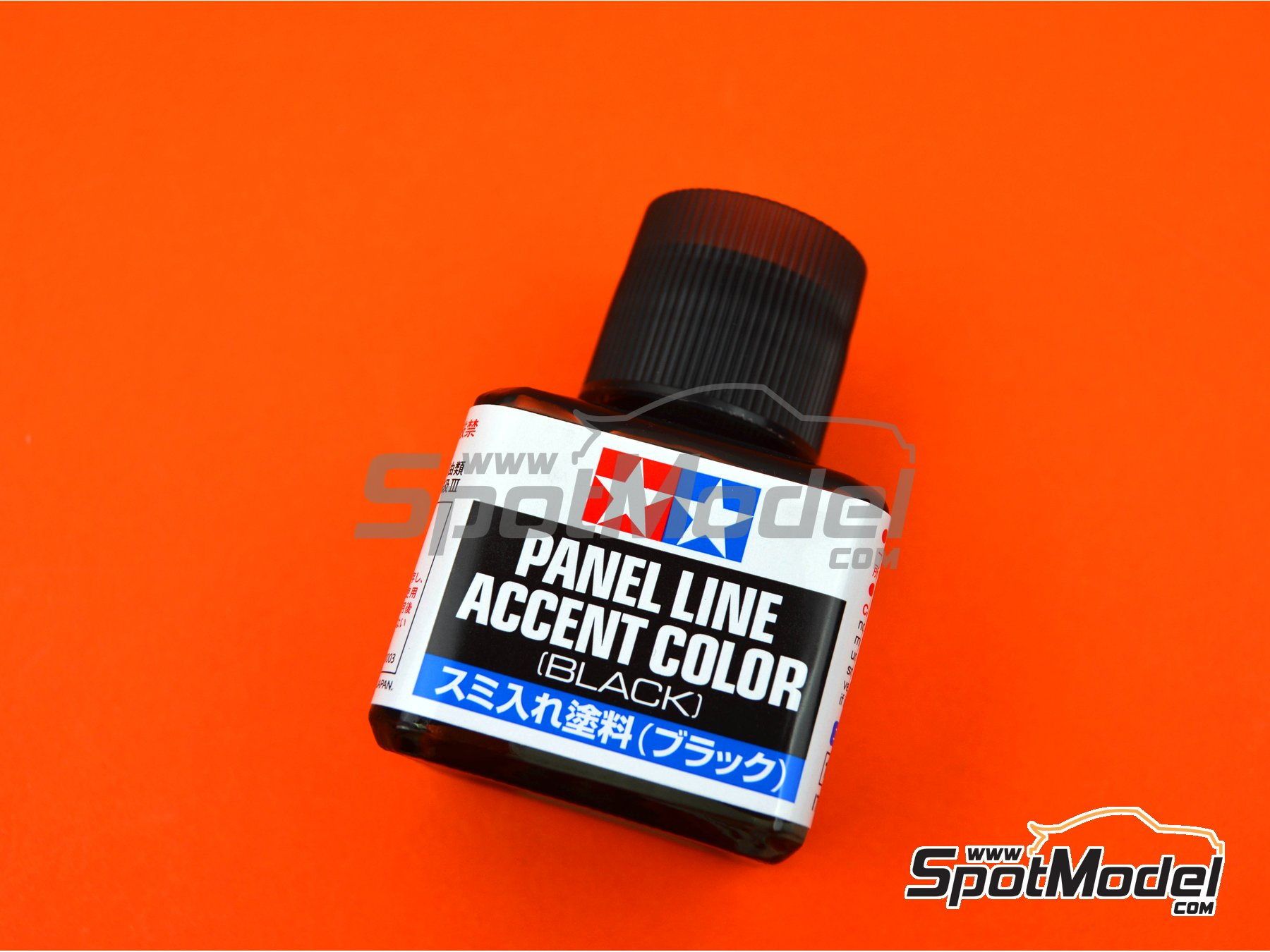 Image 1: Panel line accent color black - 1 x 40ml | Paint manufactured by Tamiya (ref.TAM87131)