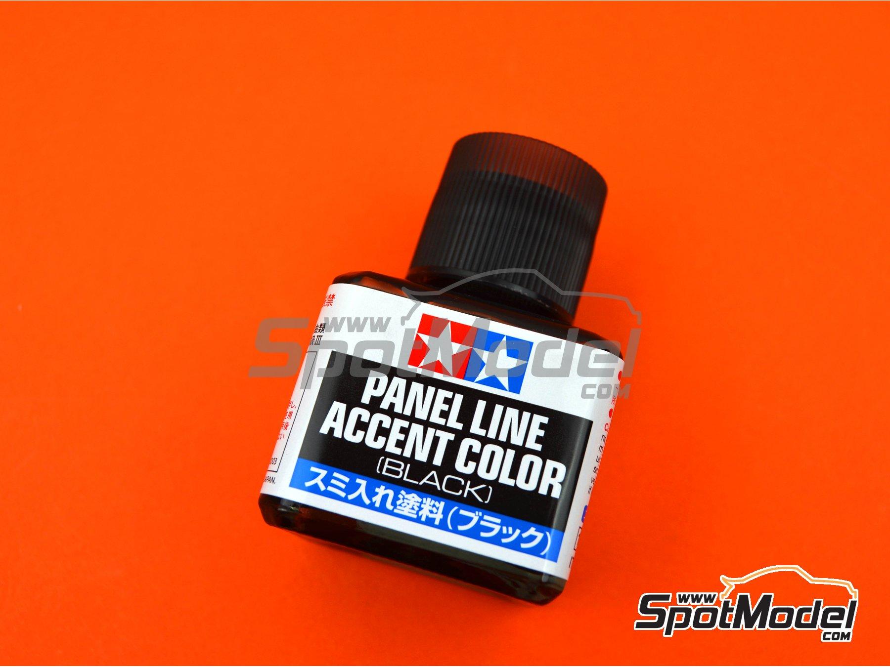 Image 1: Panel line accent color negro - 1 x 40ml | Pintura fabricado por Tamiya (ref.TAM87131)