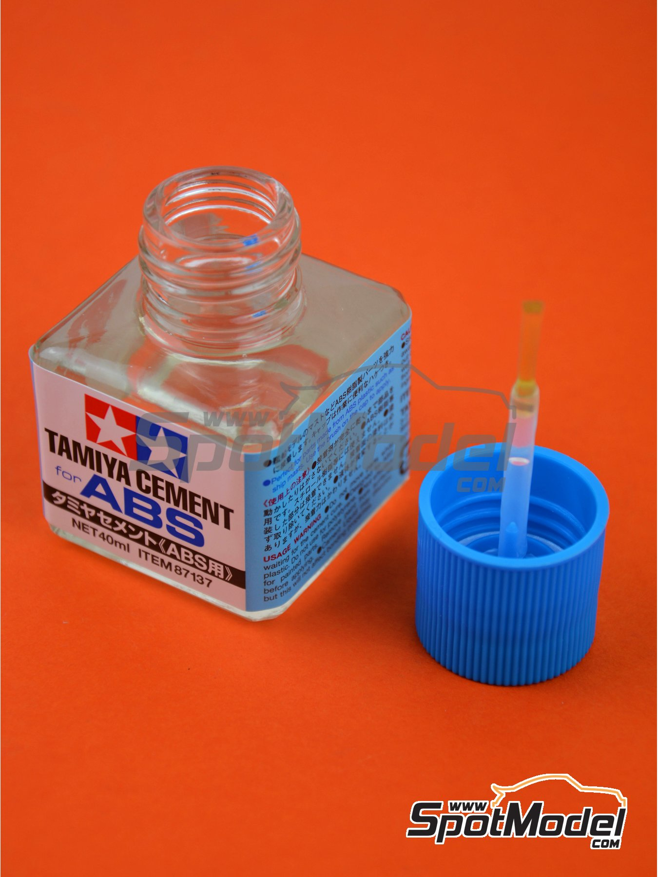 Tamiya Cement for ABS | Glue manufactured by Tamiya (ref. TAM87137) image
