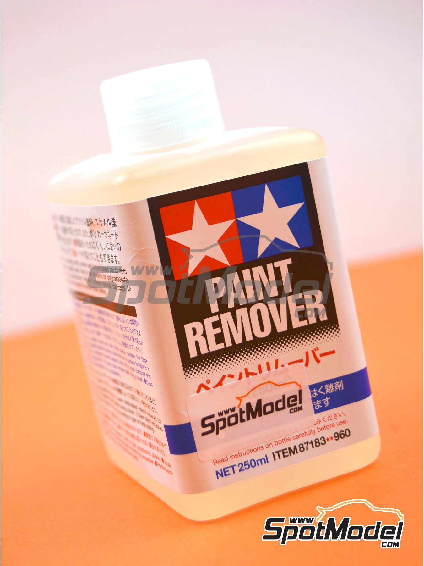 Paint remover | Thinner manufactured by Tamiya (ref. TAM87183) image