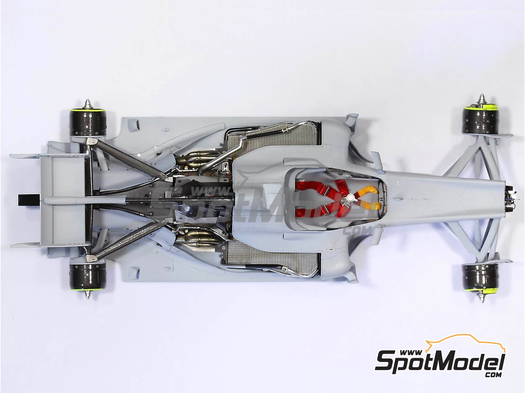 Image 2: RB Racing Renault RB6   Set de mejora y detallado en escala1/20 fabricado por Top Studio (ref.MD29014)