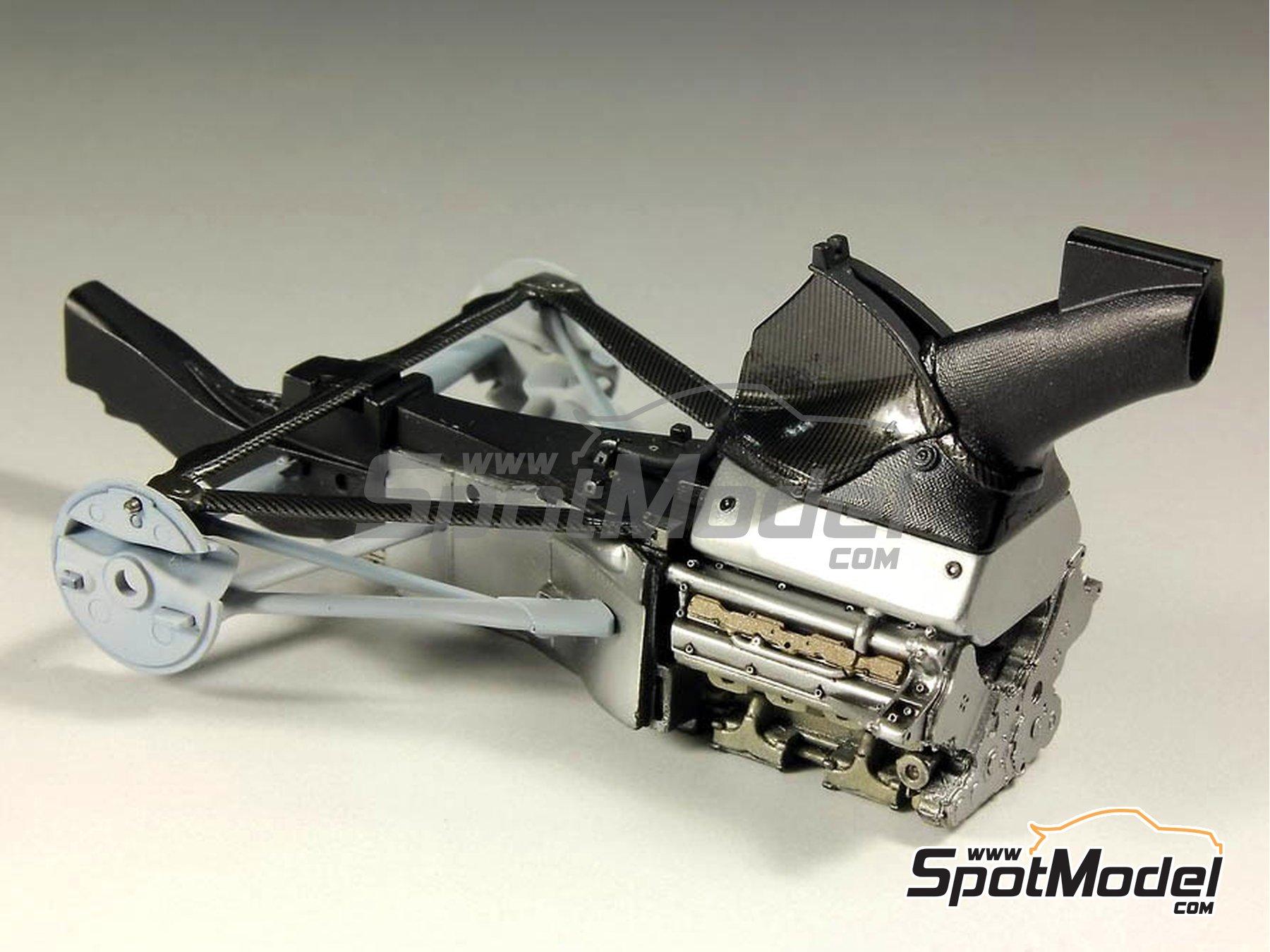 Image 6: RB Racing Renault RB6 | Set de mejora y detallado en escala1/20 fabricado por Top Studio (ref.MD29014)